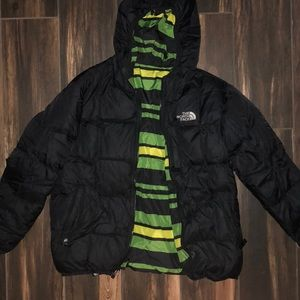Boy's The North Face Reversible Puffer Jacket